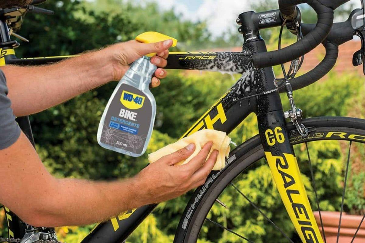 limpiador de bicicleta