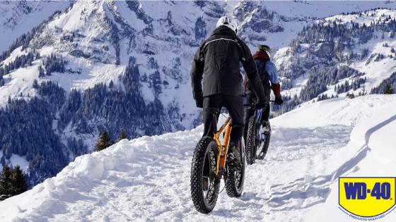 ¿Qué lubricante utilizar para moto y bici en invierno?