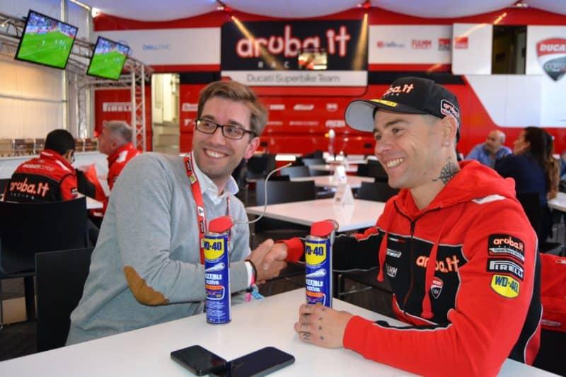 Entrevista a Álvaro Bautista Superbikes