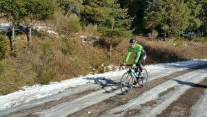 Equipo de invierno para bici