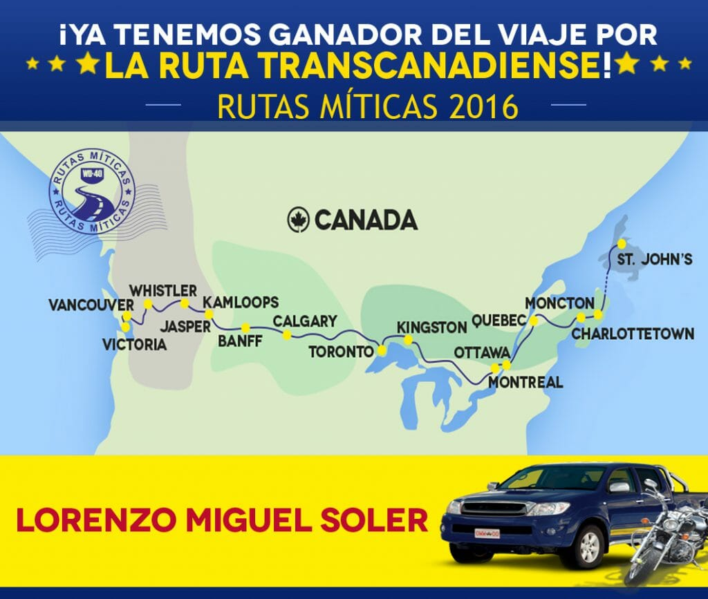 ¡Ya tenemos ganador de Rutas Míticas 2016!