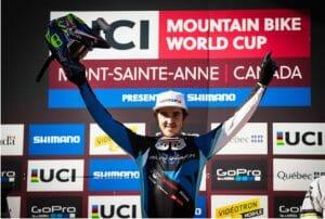 Danny Hart hace historia en la Copa del Mundo de descenso MTB